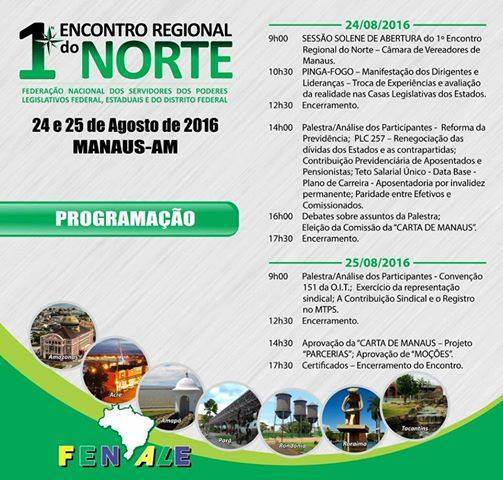 1º ENCONTRO REGIONAL DO NORTE - FENALE