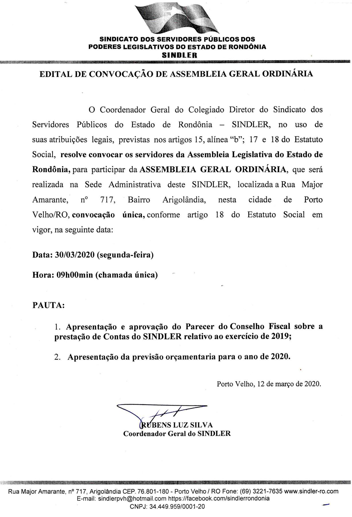 EDITAL DE CONVOCACAO AGO 30.03