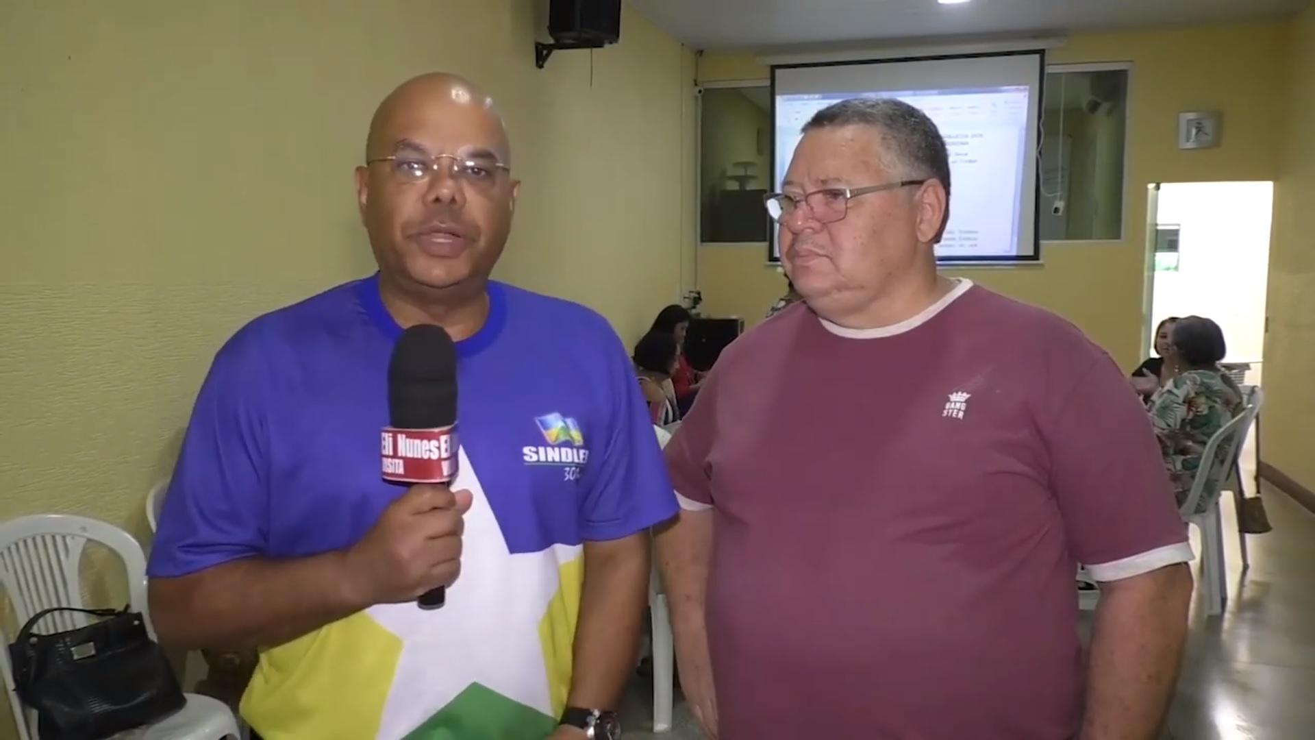 Programa Eli Nunes - Visita Sindical