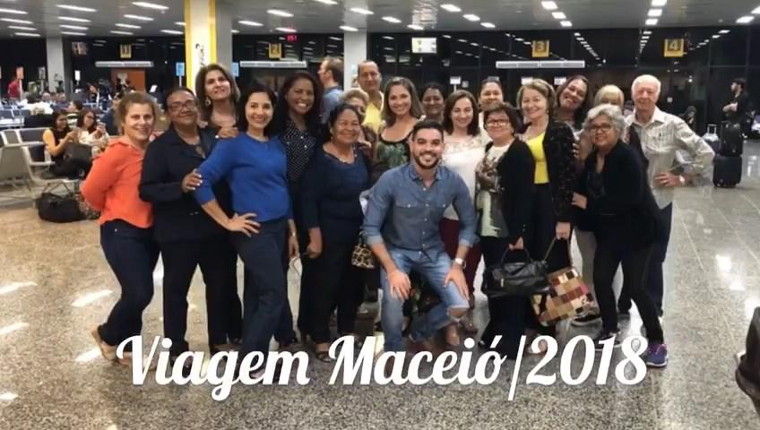 Viagem dos nossos queridos Aposentados a Maceió (setembro/2018)